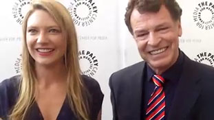 A Few Minutes With... -Fringe's- Anna Torv & John Noble - TheFutonCritic.com