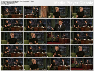 Anna Torv on Late Night with Fallon