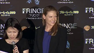 Anna Torv Promoting FRINGE season 5 in Japan