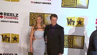 Anna Torv and John Noble at the Critics Choice Television
