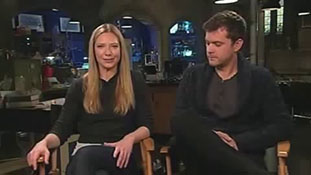 Anna Torv and Joshua Jackson of Fringe on Polivia and Altlivia Fox 5 San Diego.mp4-00001