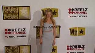 Anna Torv at the Critics Choice Television Awards Luncheon
