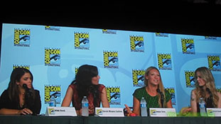Comic Con 2012 Powerful Women of Pop Culture Panel