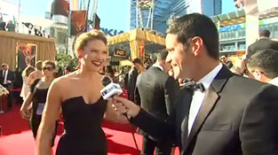 Emmys 2011- EW's Dave Karger on the red carpet! - Inside TV - EW.com