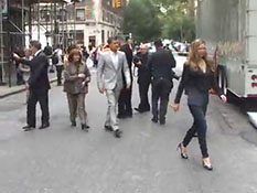 FOX UPFRONTS L575 LARRY HOLZER REPORTS NYC 051710