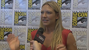 Fringe- Anna Torv Interview - Comic-Con 2012