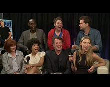 Fringe - Cast Interview for Entertainment Weekly at Comic Con 2011