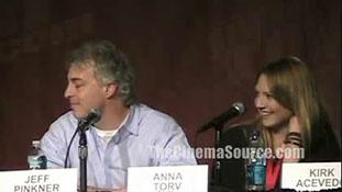 Fringe NY Comic Con Interviews with Anna Torv, Joshua Jackson, Lance Reddick, Kirk Acevedo - Part 1