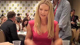 Fringe's Anna Torv at SDCC 2012