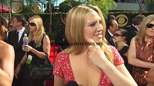 INTERVIEW- Anna Torv on experiencing the Emmys, her dress...