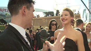 Primetime Emmy Awards 2011 - Anna Torv - Interview