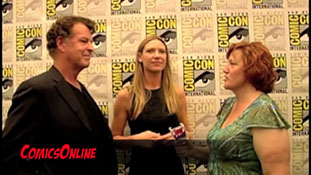SDCC 2011 - Fringe - Interview with John Noble and Anna Torv