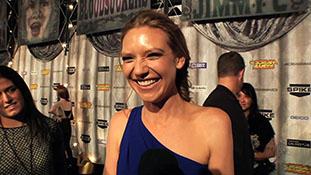 Scream Awards 2011 - Anna Torv - Interview 2