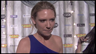Scream Awards 2011 - Anna Torv - Interview 3