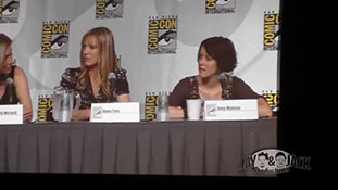Women who Kick Ass. (HD) Comic Con 2010, Panel. 1 of 5