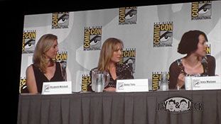 Women who Kick Ass. (HD) Comic Con 2010, Panel. 3 of 5