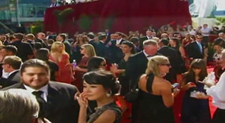 61st Emmy Awards red carpet