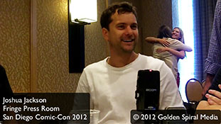 Joshua Jackson Interview Comic-Con 2012