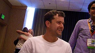 Joshua Jackson of Fringe at Comic-Con