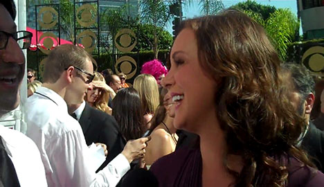 Elizabeth Perkins _ 61st Flip Cam _ Television Academy