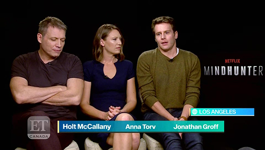Cast Talk 'Mindhunter'