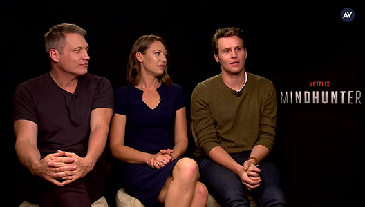 The cast of Mindhunter thinks its cool you watched the show in 2 days