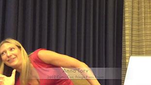 2012 Comic-Con - Fringe's Anna Torv