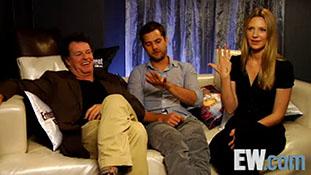 Anna Torv, John Noble and Joshua Jackson - EW 2008