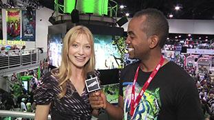Comic-Con 2010 - Women Who Kick Ass Panel  TheWB.com Interview