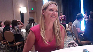 Comic Con 2012- FRINGE- Anna Torv