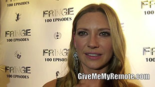 FRINGE- Anna Torv talks about the lessons she learned while on the show