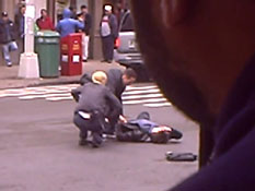 Fringe - Guy gets hit by a cab during filming.mp4-00001