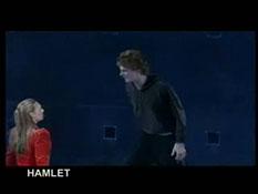 Anna Torv on stage in Hamlet (2003)