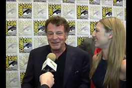 Interviews with the cast of Fringe at Comic-Con 2011