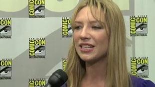 Josh Jackson, Anna Torv about Peter & Olivia (Fringe) Comic Con 2010