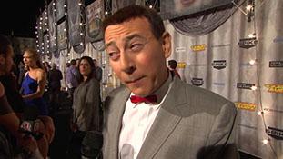 Pee-Wee Herman Interview - Spike Scream Awards 2011