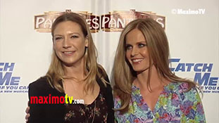 Rebecca Mader & Anna Torv -Catch Me If You Can- Musical Play Opening Night Red Carpet Arrivals