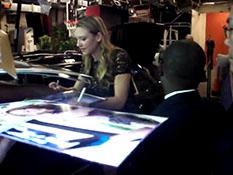 Regis and Kelly - Anna Torv - Backstage