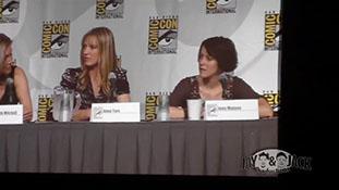 Women who Kick Ass. (HD) Comic Con 2010, Panel. 1 of 5