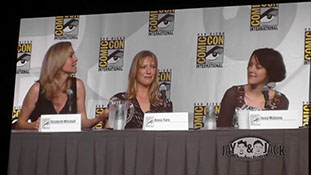 Women who Kick Ass. (HD) Comic Con 2010, Panel. 2 of 5