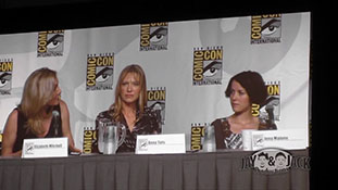 Women who Kick Ass. (HD) Comic Con 2010, Panel. 4 of 5