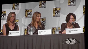 Women who Kick Ass. (HD) Comic Con 2010, Panel. 5 of 5