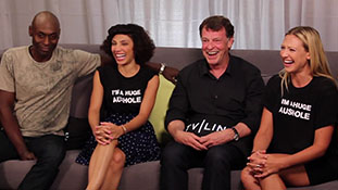 Community,- -Fringe,- -Bones,- Interview Funny Outtakes and More at Comic-Con 2012