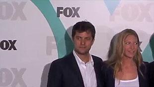 Nigel Lythgoe David Boreanaz and Randy Jackson Arrive At 2012 Fox Upfront