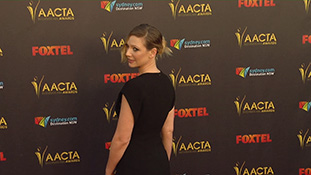aacta red carpet