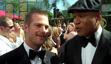Chris O_Donnell _ LL Cool J _ 61st Flip Cam _ Television Academy