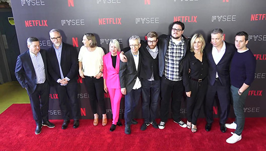 Mindhunter Cast at the Mindhunter FYC Event at Raleigh Studios in Hollywood