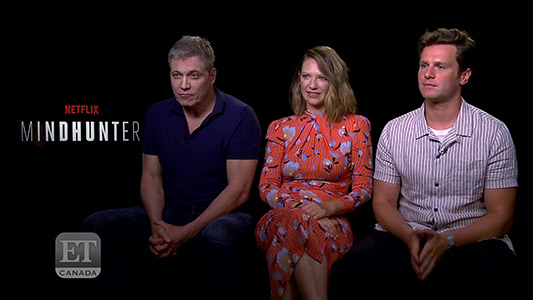 Jonathan Groff Anna Torv Tease Mindhunter Season 2 Serial Killers EXTENDED